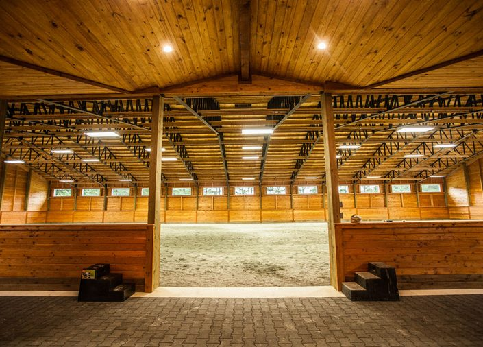 Commercial Horse Barns, Indoor Riding Arena