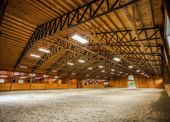 Indoor Riding Arena, Barn Builder