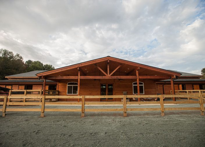Commercial Horse Barns