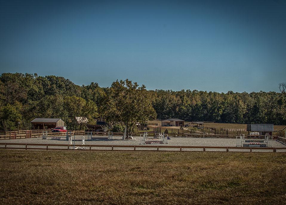 Outdoor Riding Arena, Barn Builder